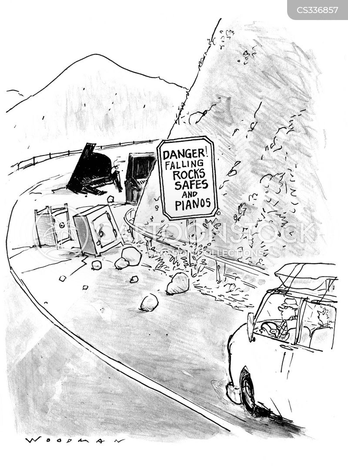 falling piano cartoon