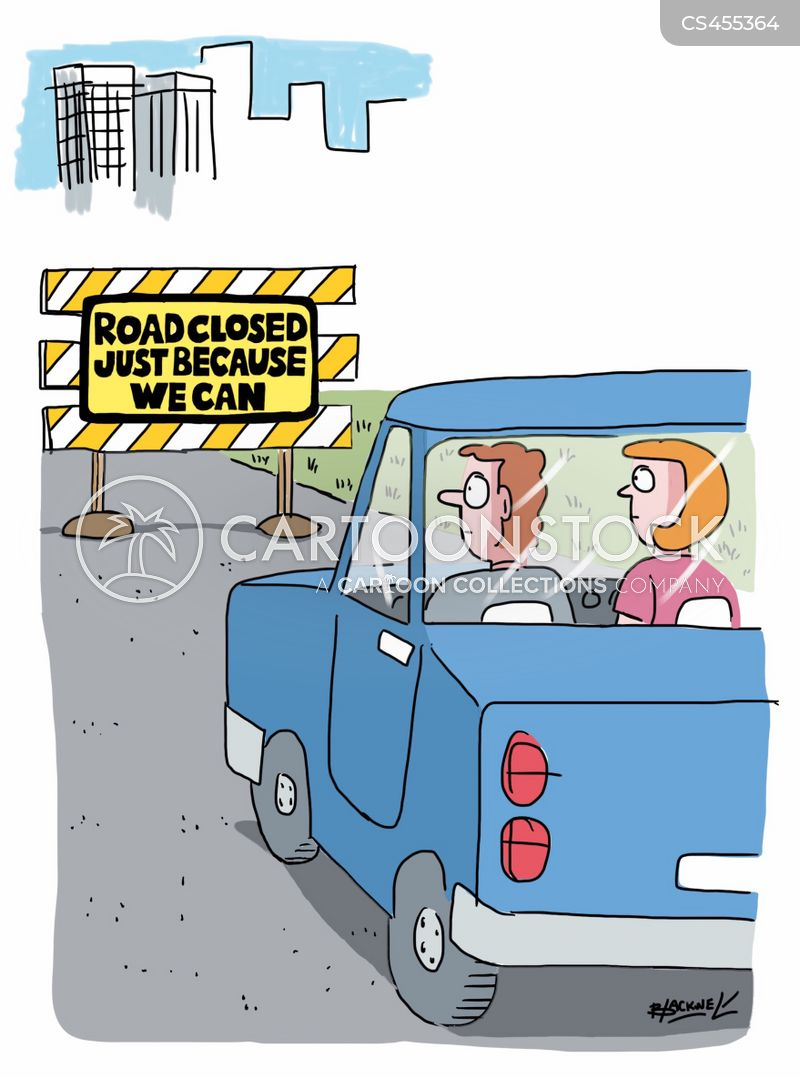 Road Diversions cartoons, Road Diversions cartoon, funny, Road Diversions picture, Road Diversions pictures, Road Diversions image, Road Diversions images, Road Diversions illustration, Road Diversions illustrations