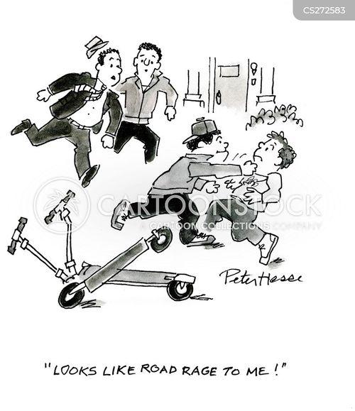 scooters cartoon