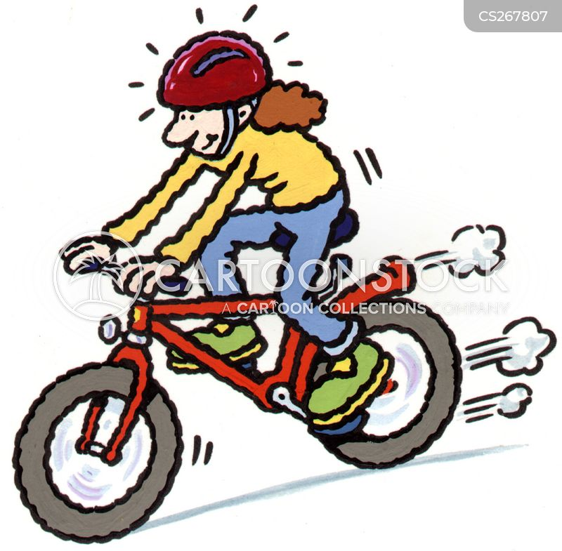 pushbike cartoon