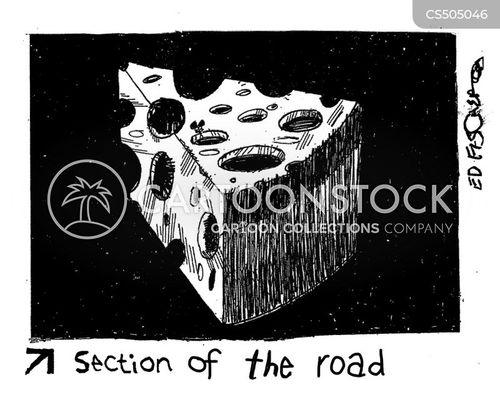 city streets cartoon
