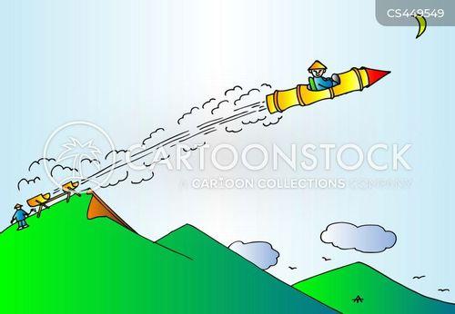 space programme cartoon