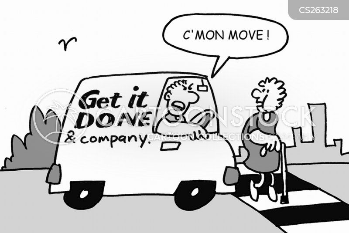 white van men cartoon