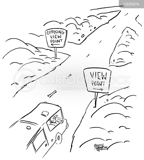 road travel cartoon