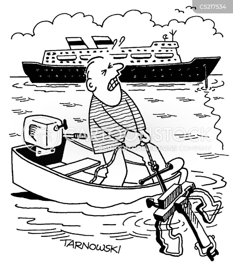 schooner cartoon