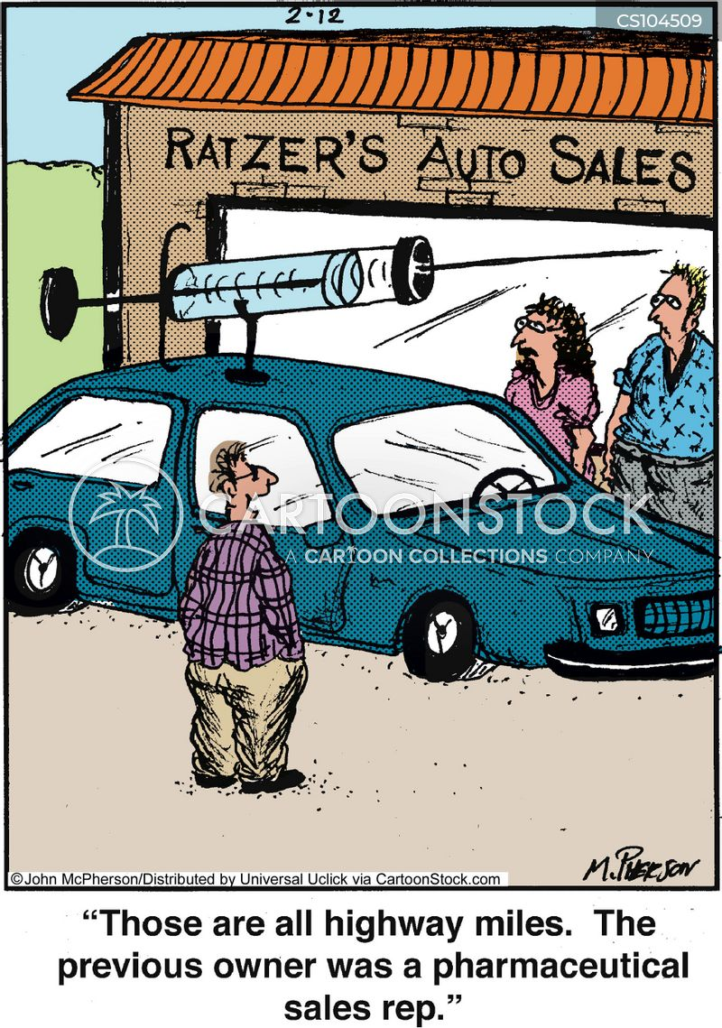 sales rep cartoon