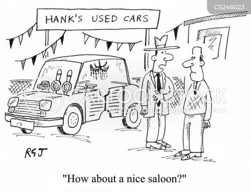 luxury car cartoon