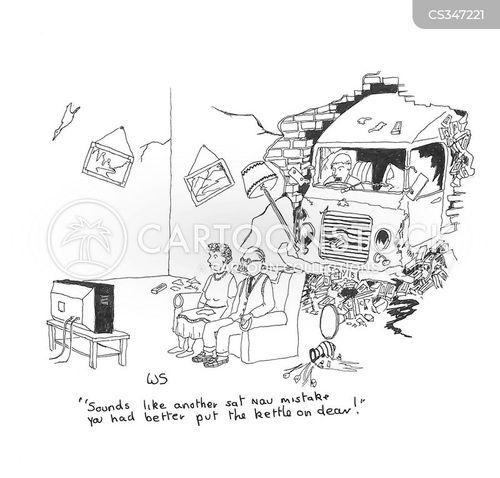 mapping cartoon