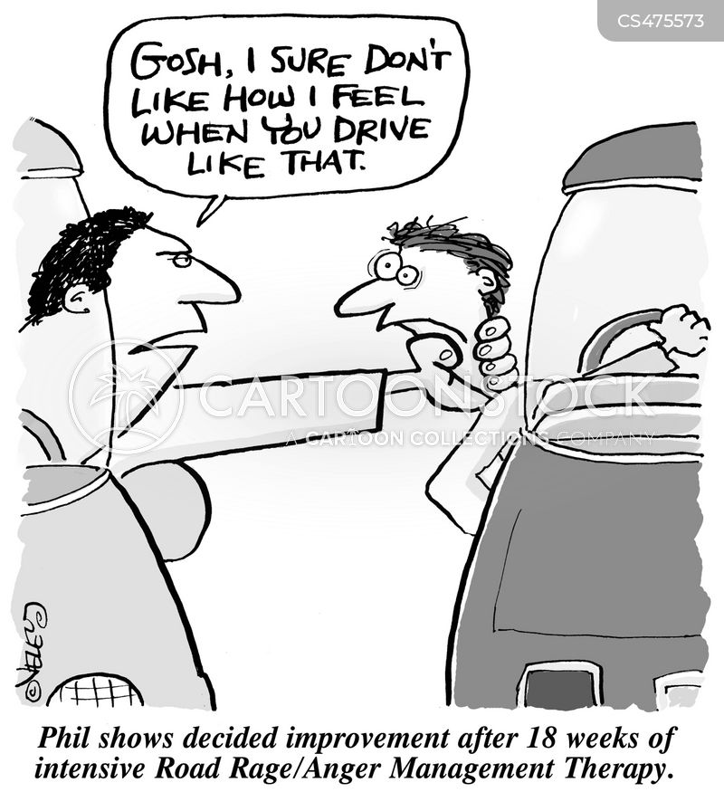 anger management therapy cartoon