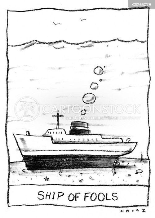 ship of fools cartoon