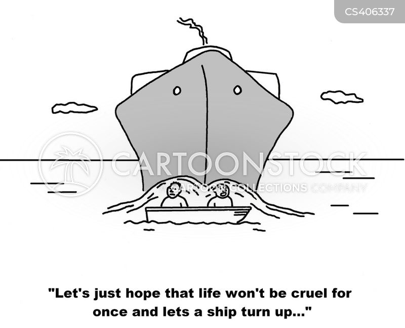 rescue boats cartoon