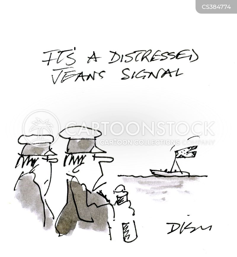 Distress Signals cartoons, Distress Signals cartoon, funny, Distress Signals picture, Distress Signals pictures, Distress Signals image, Distress Signals images, Distress Signals illustration, Distress Signals illustrations