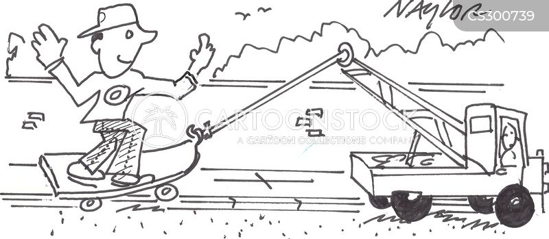 tow trucks cartoon