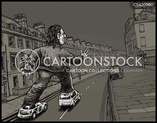 rollerblades cartoon
