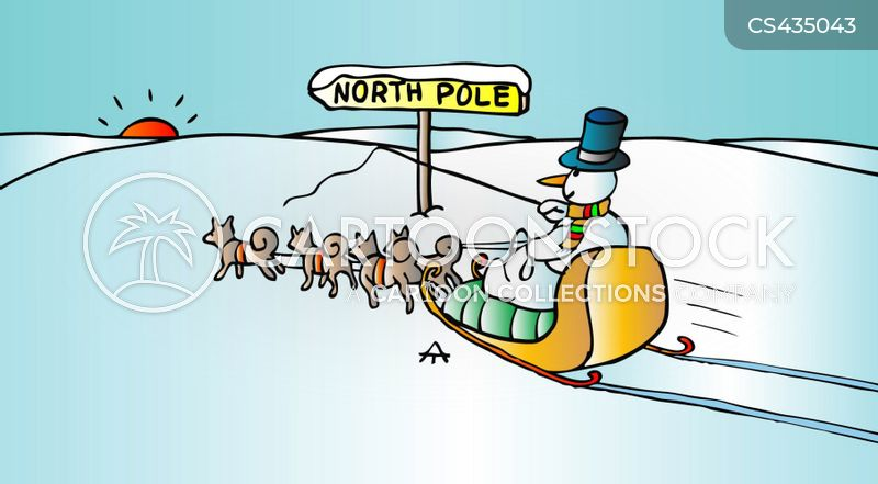 Sleigh Ride Cartoons And Comics Funny Pictures From Cartoonstock