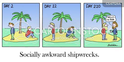 no social skills cartoon