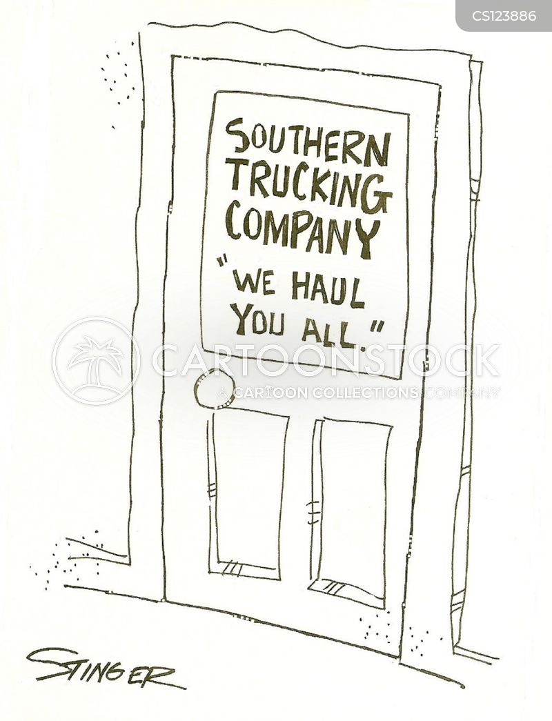 southerners cartoon
