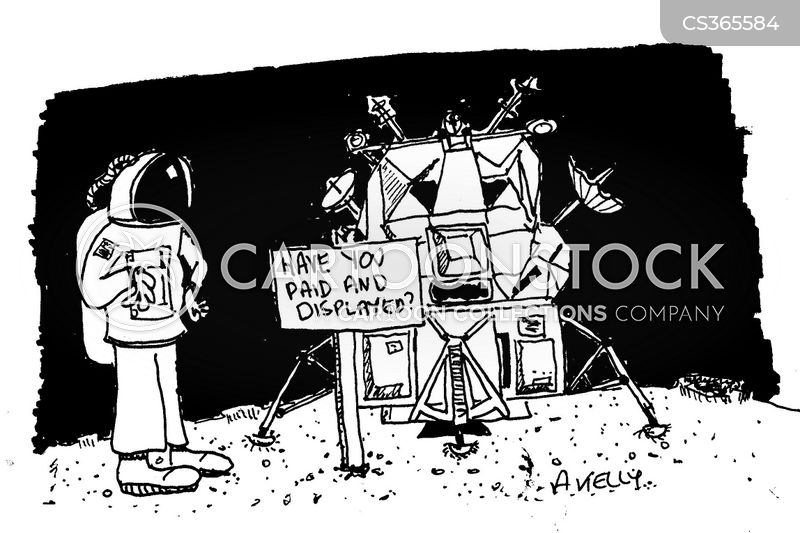 space rocket cartoon