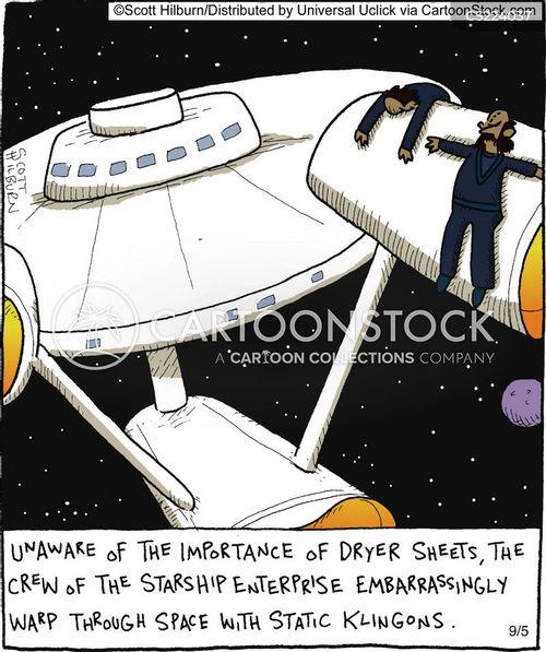 starship cartoon