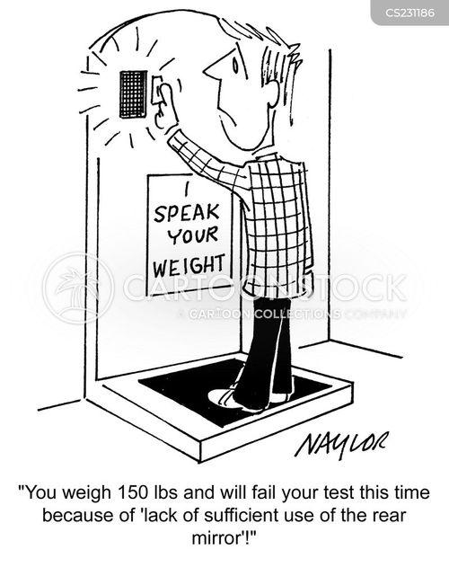 talking scales cartoon