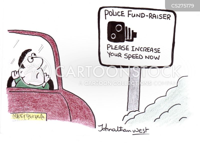 police funding cartoon