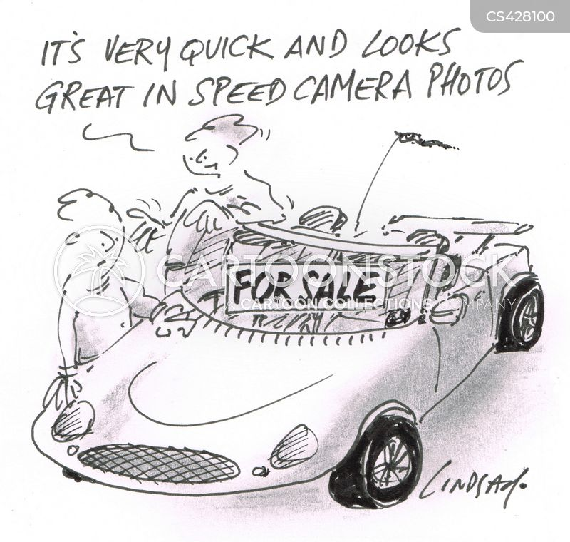 fast car cartoon