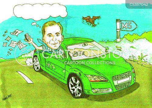 convertible cartoon