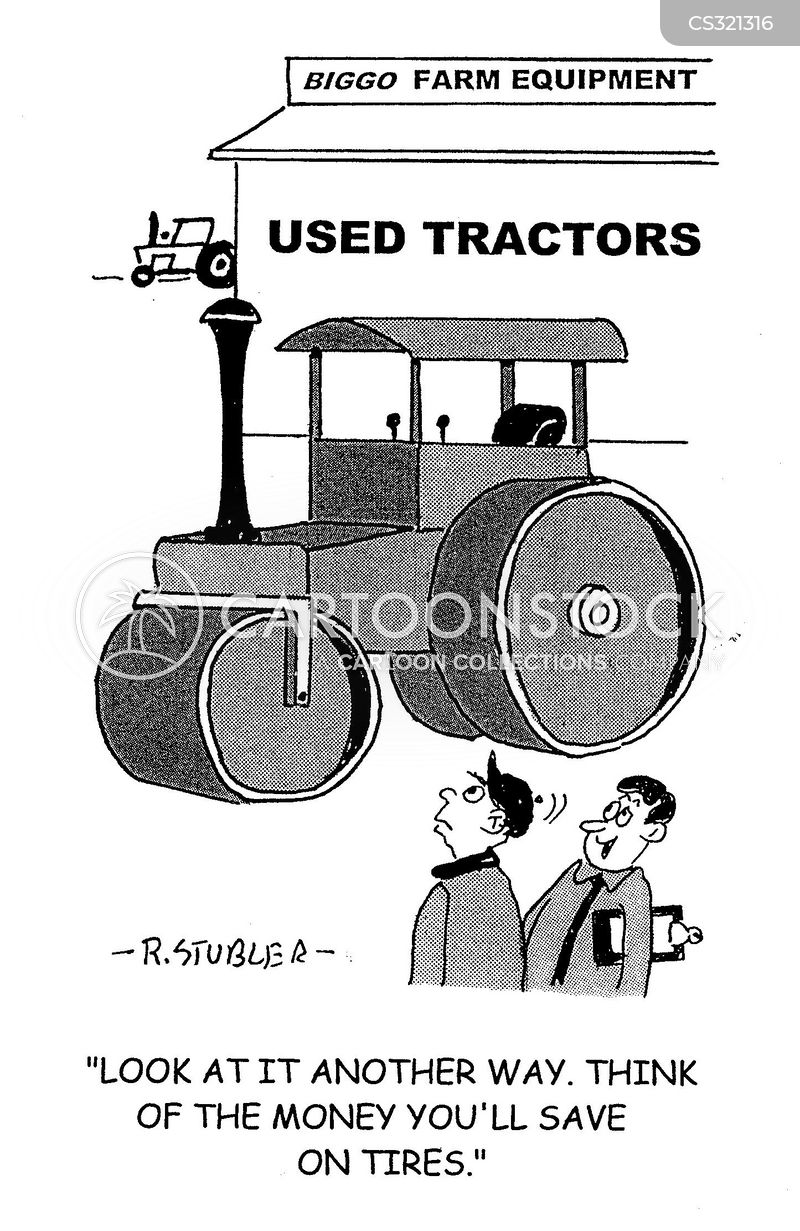 agricultural equipment cartoon
