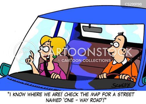 navigated cartoon