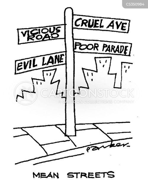 mean streets cartoon