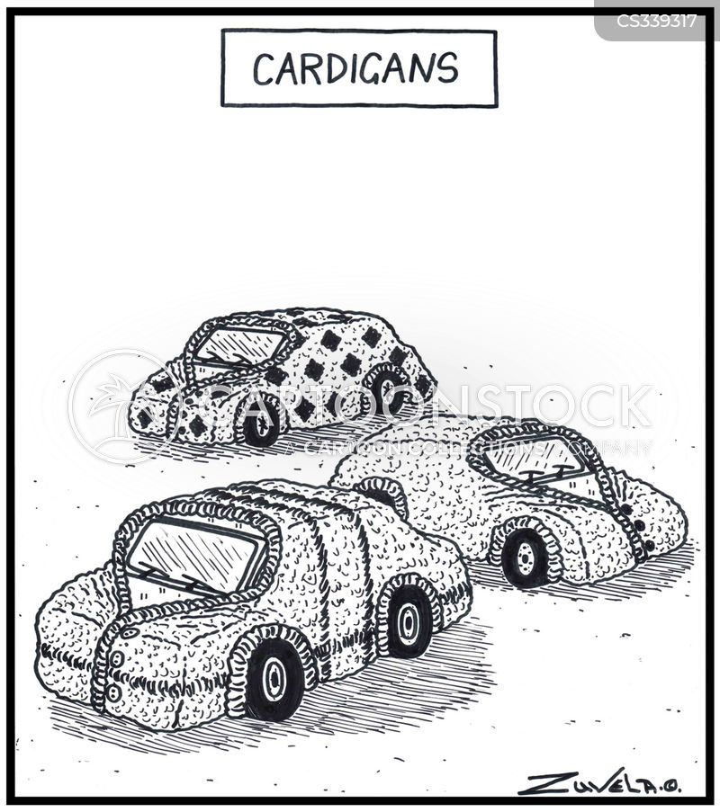 cardigans cartoon