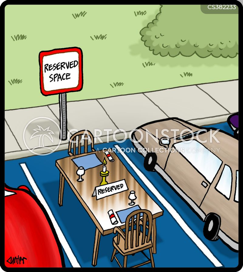 dinner tables cartoon