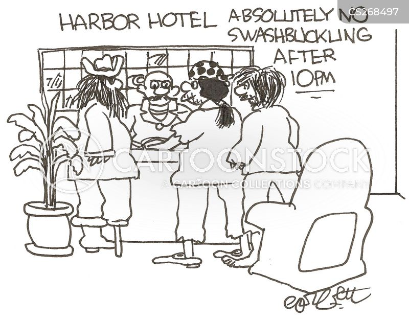 harbors cartoon