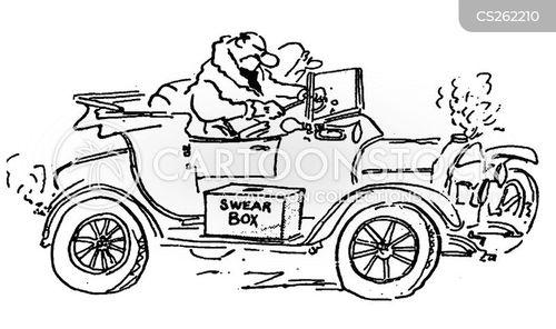 break-down cartoon