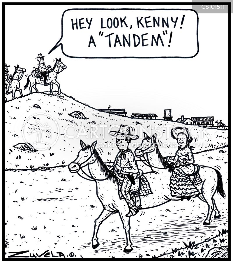 equestrian cartoon
