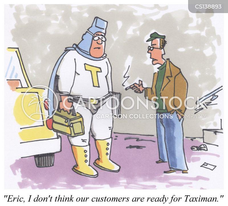 livery service cartoon