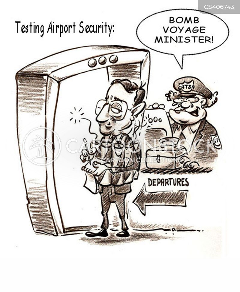 transportation security administration cartoon