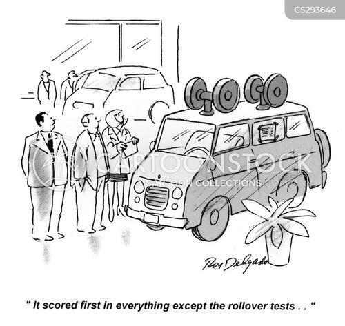 rollover cartoon