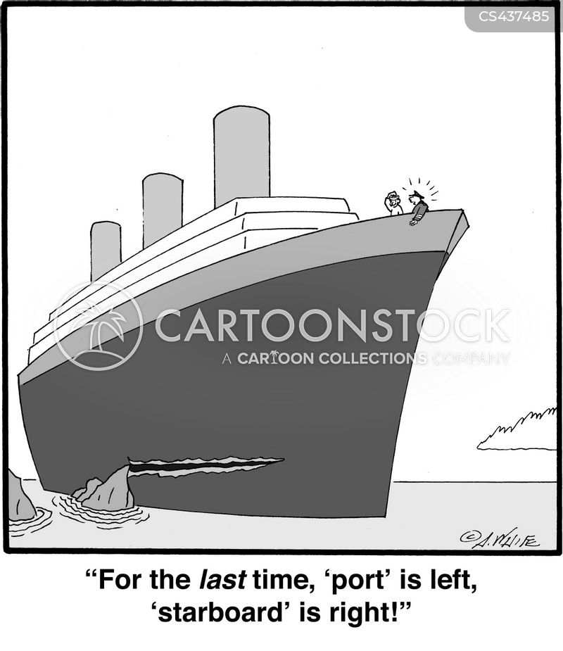 starboard cartoon