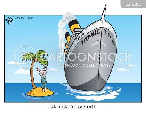 rescue ship cartoon