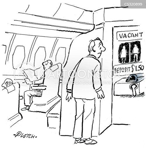 vacant cartoon
