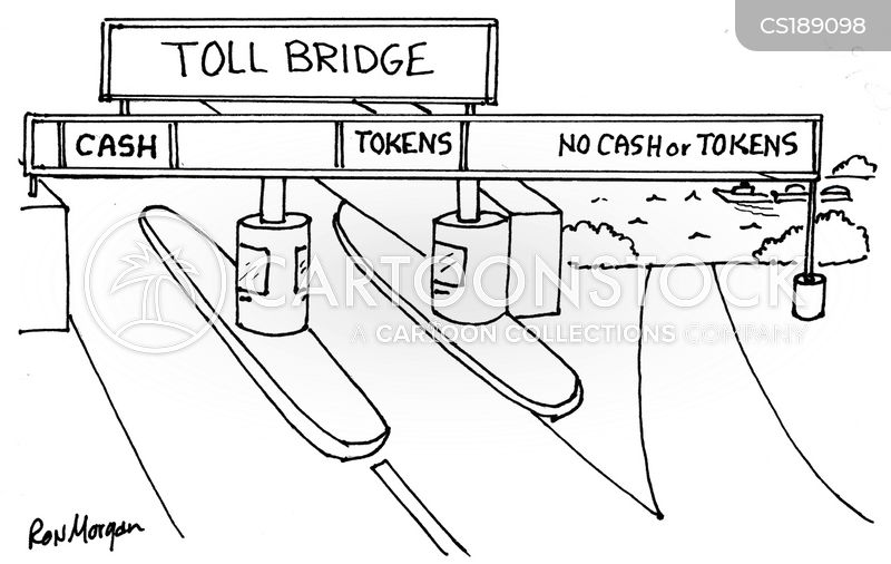 tolls cartoon