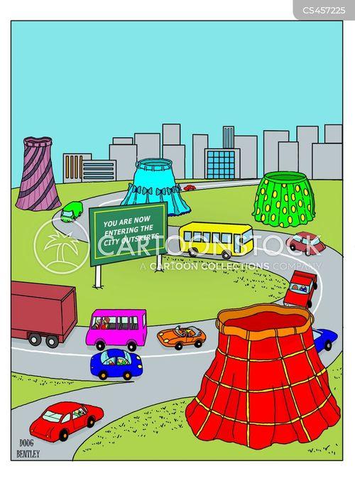 urban environments cartoon