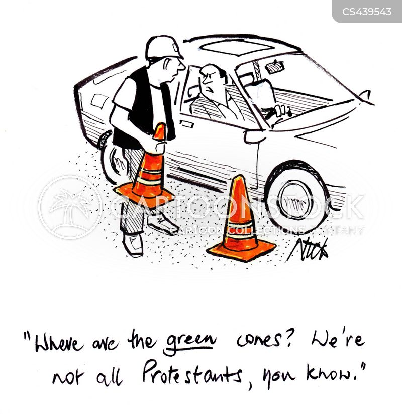 protestants cartoon
