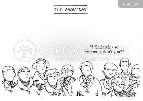 away day cartoon