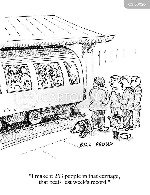 train carriage cartoon
