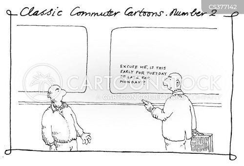 amtrack cartoon