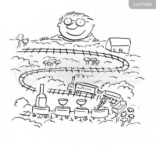 trainset cartoon