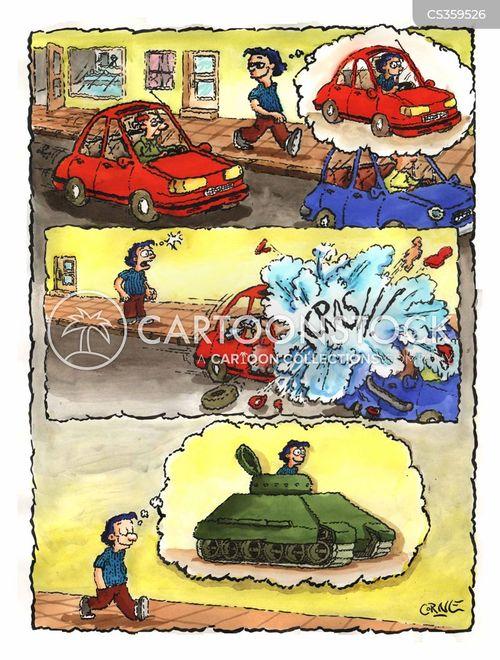 safer cartoon