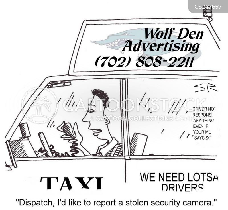cab company cartoon